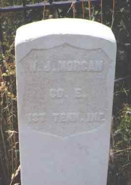 MORGAN, W. J. - Pitkin County, Colorado | W. J. MORGAN - Colorado Gravestone Photos
