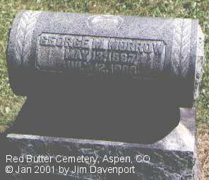 MORROW, GEORGE M. - Pitkin County, Colorado | GEORGE M. MORROW - Colorado Gravestone Photos