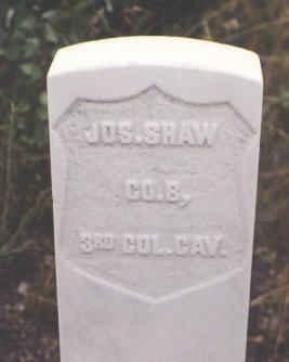 SHAW, JOS. - Pitkin County, Colorado | JOS. SHAW - Colorado Gravestone Photos