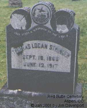STRINGER, THOMAS LOGAN - Pitkin County, Colorado   THOMAS LOGAN STRINGER - Colorado Gravestone Photos