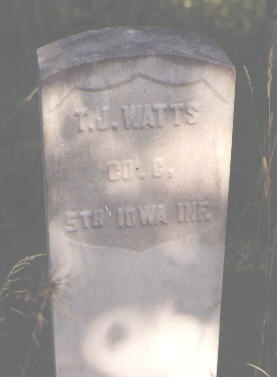 WATTS, T. J. - Pitkin County, Colorado | T. J. WATTS - Colorado Gravestone Photos
