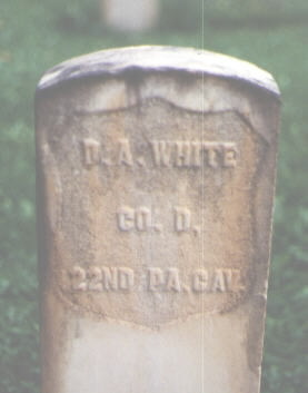 WHITE, D. A. - Pitkin County, Colorado | D. A. WHITE - Colorado Gravestone Photos