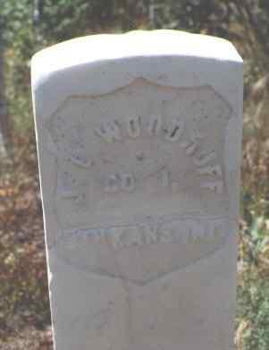 WOODRUFF, J. L. - Pitkin County, Colorado   J. L. WOODRUFF - Colorado Gravestone Photos