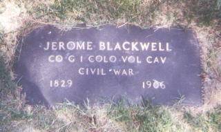 BLACKWELL, JEROME - Prowers County, Colorado | JEROME BLACKWELL - Colorado Gravestone Photos