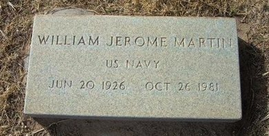 MARTIN (VETERAN), WILLIAM JEROME - Prowers County, Colorado | WILLIAM JEROME MARTIN (VETERAN) - Colorado Gravestone Photos