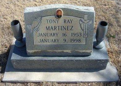MARTINEZ, TONY RAY - Prowers County, Colorado | TONY RAY MARTINEZ - Colorado Gravestone Photos