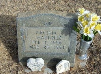 MARTINEZ, VIRGINIA L - Prowers County, Colorado | VIRGINIA L MARTINEZ - Colorado Gravestone Photos