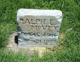 MCVEY, RALPH E - Prowers County, Colorado | RALPH E MCVEY - Colorado Gravestone Photos