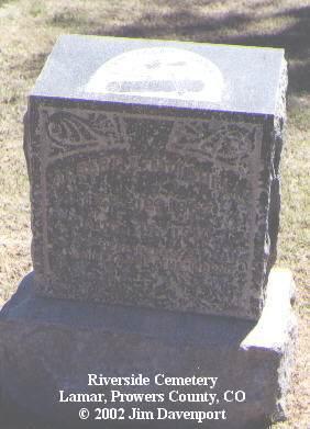 MITCHELL, ALBERT E. - Prowers County, Colorado | ALBERT E. MITCHELL - Colorado Gravestone Photos