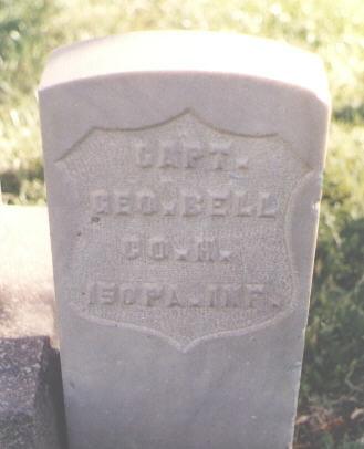 BELL, GEO. - Pueblo County, Colorado   GEO. BELL - Colorado Gravestone Photos