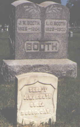 BOOTH, L. D. - Pueblo County, Colorado | L. D. BOOTH - Colorado Gravestone Photos