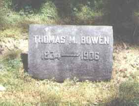BOWEN, THOMAS M. - Pueblo County, Colorado | THOMAS M. BOWEN - Colorado Gravestone Photos