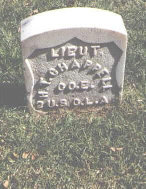 CHAPPELL, H. T. - Pueblo County, Colorado | H. T. CHAPPELL - Colorado Gravestone Photos