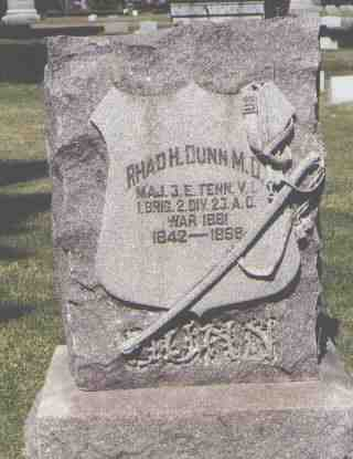 DUNN, RHAD. H. - Pueblo County, Colorado | RHAD. H. DUNN - Colorado Gravestone Photos