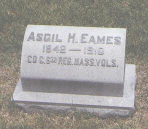 EAMES, ASGIL H. - Pueblo County, Colorado | ASGIL H. EAMES - Colorado Gravestone Photos