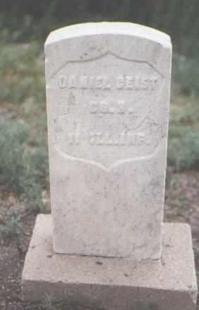 GEIST, DANIEL - Pueblo County, Colorado   DANIEL GEIST - Colorado Gravestone Photos