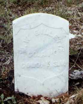 GILLETTE, W. W. - Pueblo County, Colorado | W. W. GILLETTE - Colorado Gravestone Photos