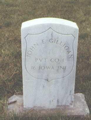 GILLIGAN, JOHN E. - Pueblo County, Colorado | JOHN E. GILLIGAN - Colorado Gravestone Photos