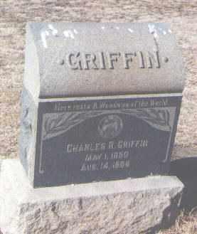 GRIFFIN, CHARLES R. - Pueblo County, Colorado | CHARLES R. GRIFFIN - Colorado Gravestone Photos