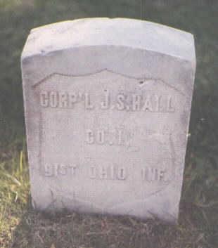 HALL, J. S. - Pueblo County, Colorado | J. S. HALL - Colorado Gravestone Photos
