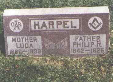 HARPEL, LUDA - Pueblo County, Colorado | LUDA HARPEL - Colorado Gravestone Photos