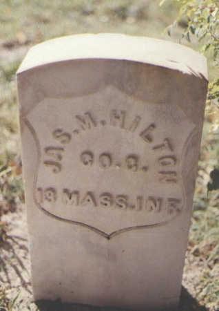 HILTON, JAS. M. - Pueblo County, Colorado | JAS. M. HILTON - Colorado Gravestone Photos