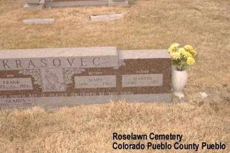 KRASOVEC, MARTIN - Pueblo County, Colorado | MARTIN KRASOVEC - Colorado Gravestone Photos
