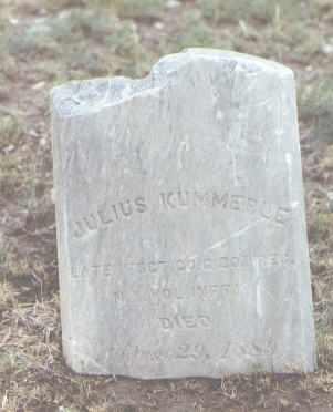 KUMMERLE, JULIUS - Pueblo County, Colorado   JULIUS KUMMERLE - Colorado Gravestone Photos