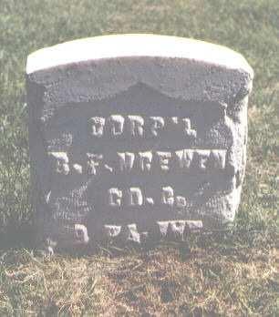 MCEWEN, B. F. - Pueblo County, Colorado | B. F. MCEWEN - Colorado Gravestone Photos