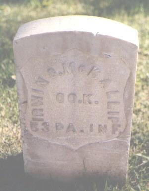 MCKALLIP, IRWIN C. - Pueblo County, Colorado | IRWIN C. MCKALLIP - Colorado Gravestone Photos
