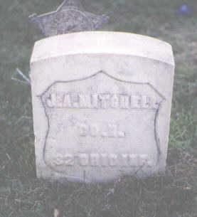 MITCHELL, J. A. - Pueblo County, Colorado | J. A. MITCHELL - Colorado Gravestone Photos