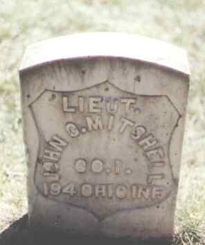 MITCHELL, JOHN C. - Pueblo County, Colorado | JOHN C. MITCHELL - Colorado Gravestone Photos