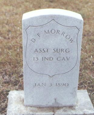 MORROW, D. F. - Pueblo County, Colorado   D. F. MORROW - Colorado Gravestone Photos