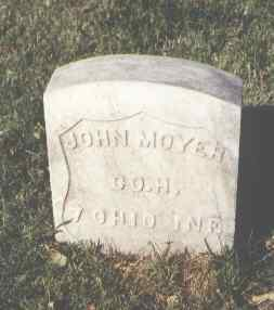 MOYER, JOHN - Pueblo County, Colorado | JOHN MOYER - Colorado Gravestone Photos