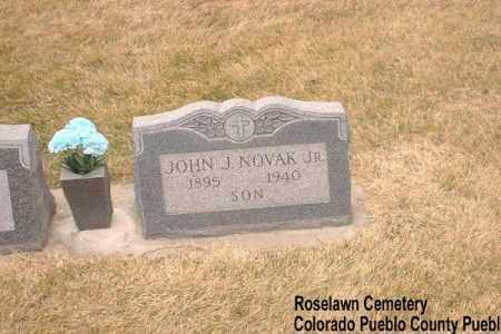 NOVAK, JOHN J. - Pueblo County, Colorado | JOHN J. NOVAK - Colorado Gravestone Photos
