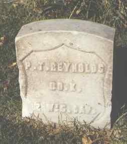 REYNOLDS, P. T. - Pueblo County, Colorado | P. T. REYNOLDS - Colorado Gravestone Photos
