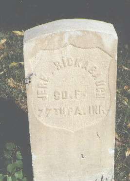 RICKABAUGH, JERE. - Pueblo County, Colorado | JERE. RICKABAUGH - Colorado Gravestone Photos