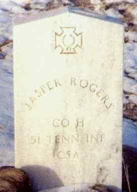 ROGERS, JASPER - Pueblo County, Colorado | JASPER ROGERS - Colorado Gravestone Photos