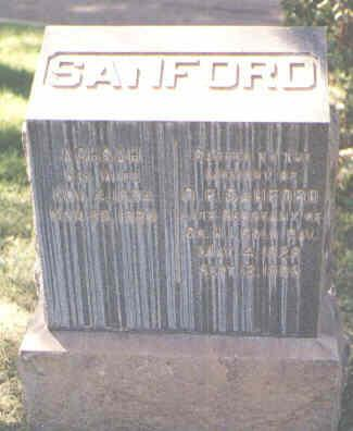 SANFORD, O. F. - Pueblo County, Colorado | O. F. SANFORD - Colorado Gravestone Photos