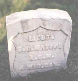WATSON, S. C. - Pueblo County, Colorado | S. C. WATSON - Colorado Gravestone Photos