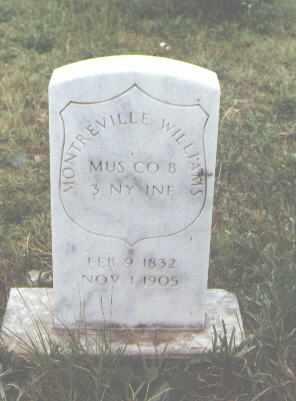 WILLIAMS, MONTREVILLE - Pueblo County, Colorado | MONTREVILLE WILLIAMS - Colorado Gravestone Photos