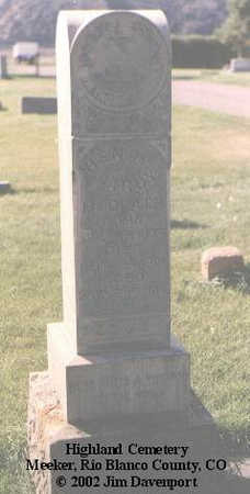 REDPATH, HENRY LAROY - Rio Blanco County, Colorado | HENRY LAROY REDPATH - Colorado Gravestone Photos
