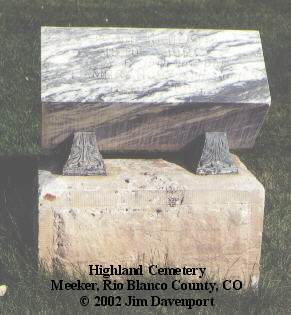 REDPATH, JACOB - Rio Blanco County, Colorado | JACOB REDPATH - Colorado Gravestone Photos