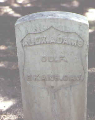 ADAMS, ALEX. - Rio Grande County, Colorado | ALEX. ADAMS - Colorado Gravestone Photos