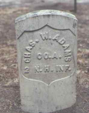 ADAMS, CHAS. W. - Rio Grande County, Colorado | CHAS. W. ADAMS - Colorado Gravestone Photos