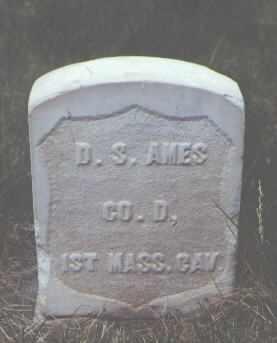 AMES, D. S. - Rio Grande County, Colorado   D. S. AMES - Colorado Gravestone Photos
