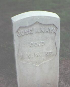 ANAYA, JOSE - Rio Grande County, Colorado   JOSE ANAYA - Colorado Gravestone Photos