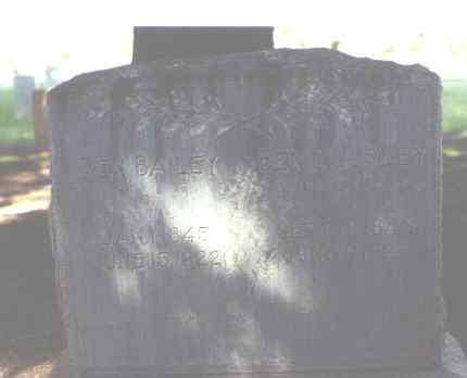BAILEY, BEN - Rio Grande County, Colorado | BEN BAILEY - Colorado Gravestone Photos