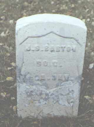 BARTON, J. S. - Rio Grande County, Colorado | J. S. BARTON - Colorado Gravestone Photos