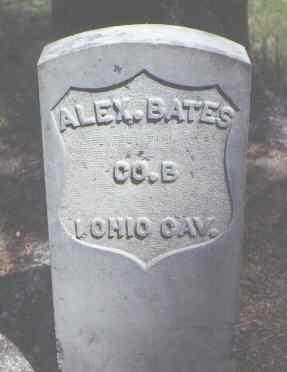 BATES, ALEX. - Rio Grande County, Colorado | ALEX. BATES - Colorado Gravestone Photos